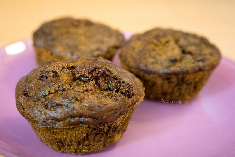 Banana Muffin baked in air fryer