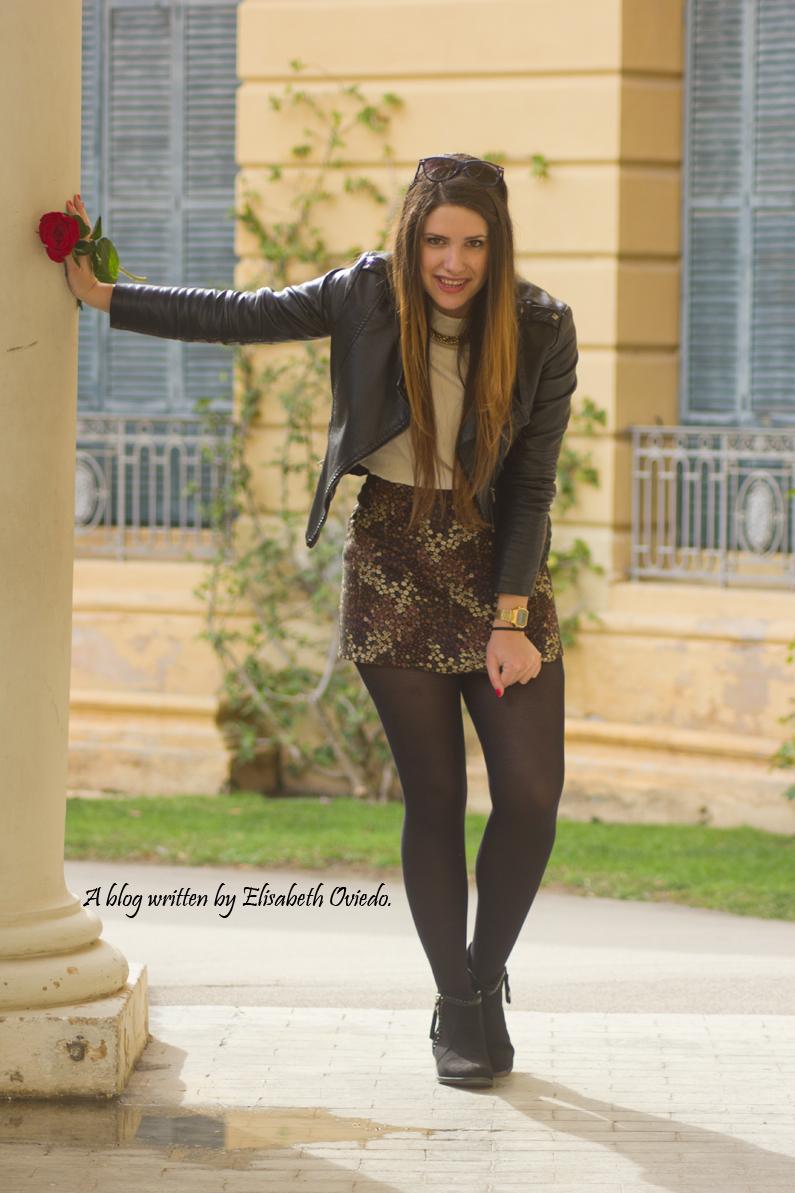 floral skirt ZARA botines Zalando new look outfit post HEELSANDROSES (3)