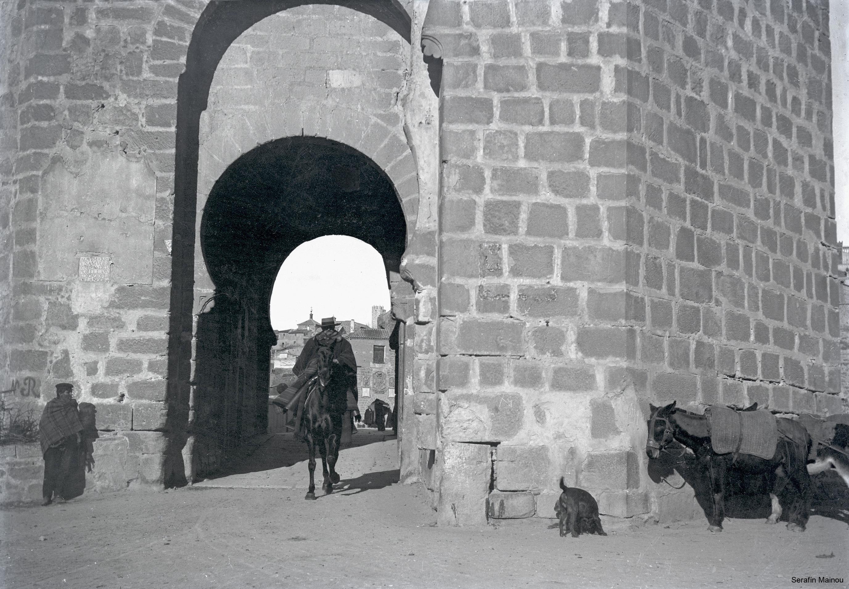 Puente de San Martín hacia 1903. Fotografía de Serafín Mainou © Colección de Juan Modolell