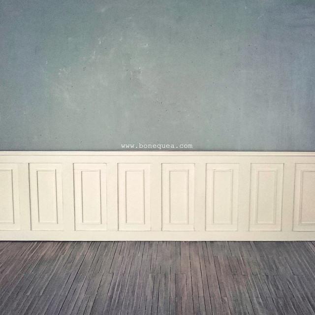 Tutorial z calo de madera - Zocalos para paredes ...