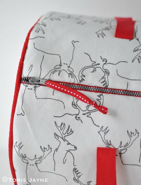Handmade Duffel Bag