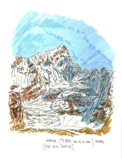 Nuptse (7.864 m.s.n.m.)