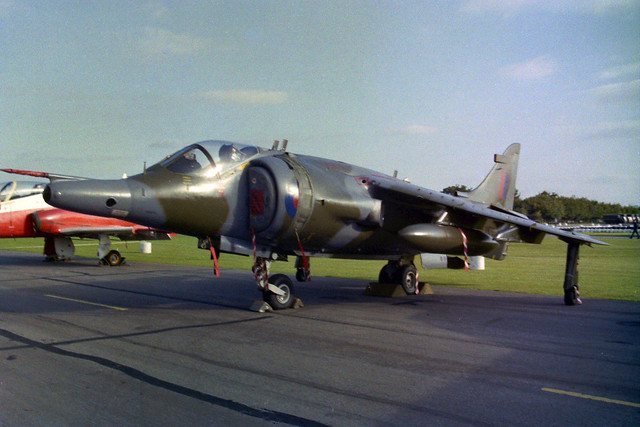 XW769 Harrier GR.3