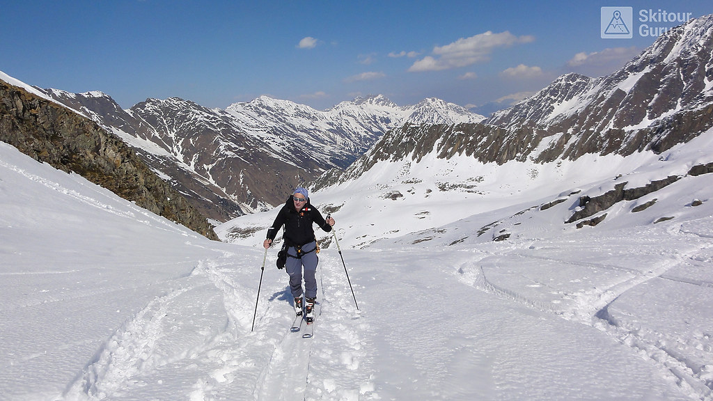 Kraulscharte Stubaiské Alpy Österreich foto 06