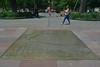 Santiago - Plaza de Armas plaque