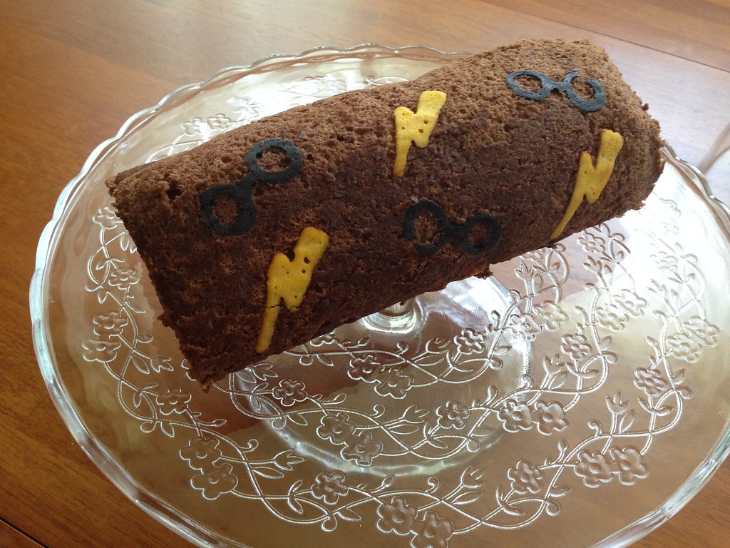 Harry Potter Roll Cake