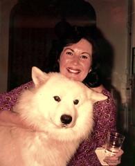Carol_Altmann_Pinsky_with_Bert_the_dog