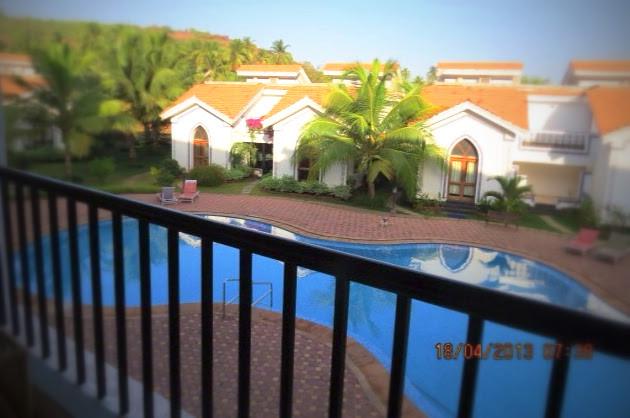 1 BHK Apartment with Pool Near Baga Beach Goa