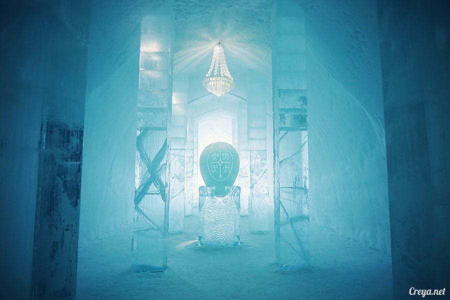 2016.02.25 ▐ 看我歐行腿 ▐ 美到搶著入冰宮,躺在用冰打造的瑞典北極圈 ICE HOTEL 裡 11.jpg