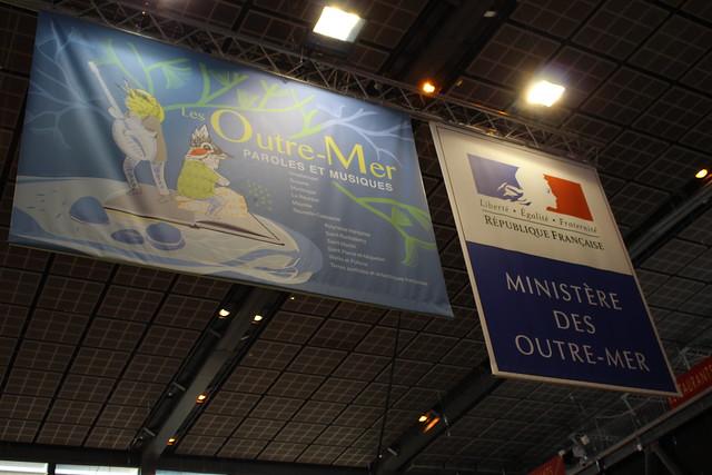 Ministère des Outre-Mer - Livre Paris 2016