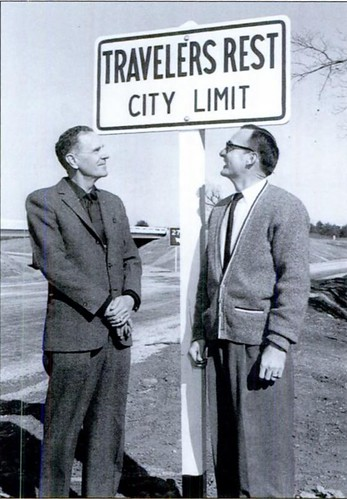 Travelers Rest City Limits