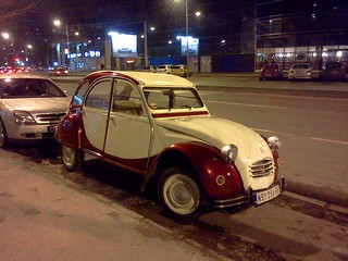 Citroen 2CV in Novi Sad