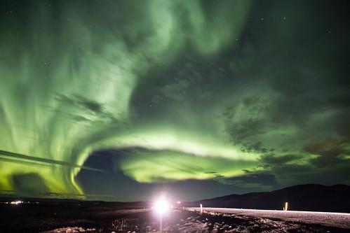 Iceland Auroras chasing...