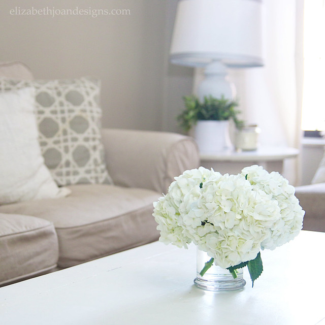 Things I'm Lovin' - White Hydrangeas