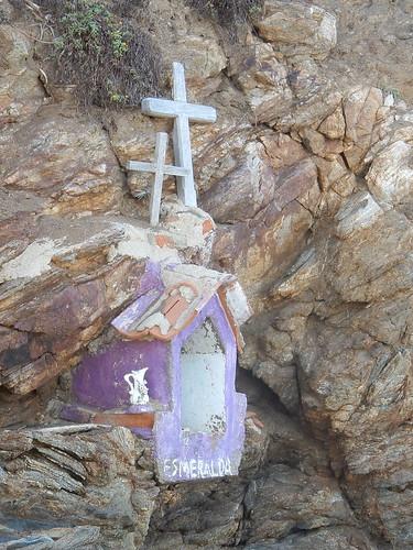 Zipolite - capilla op de rotsen
