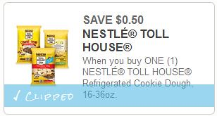 Nestle Toll House Morsels and Cookies coupons