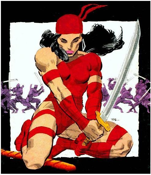 Elektra - Comics - Frank Miller