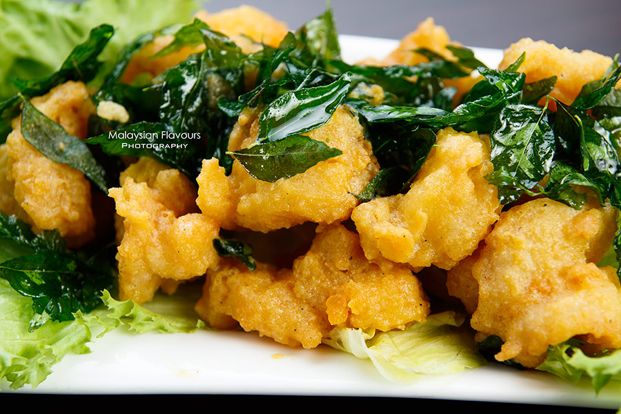 The Prince Restaurant 1Mont Kiara KL fried prawns with salted egg yolk