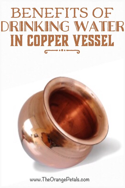 Benefits of copper vessel