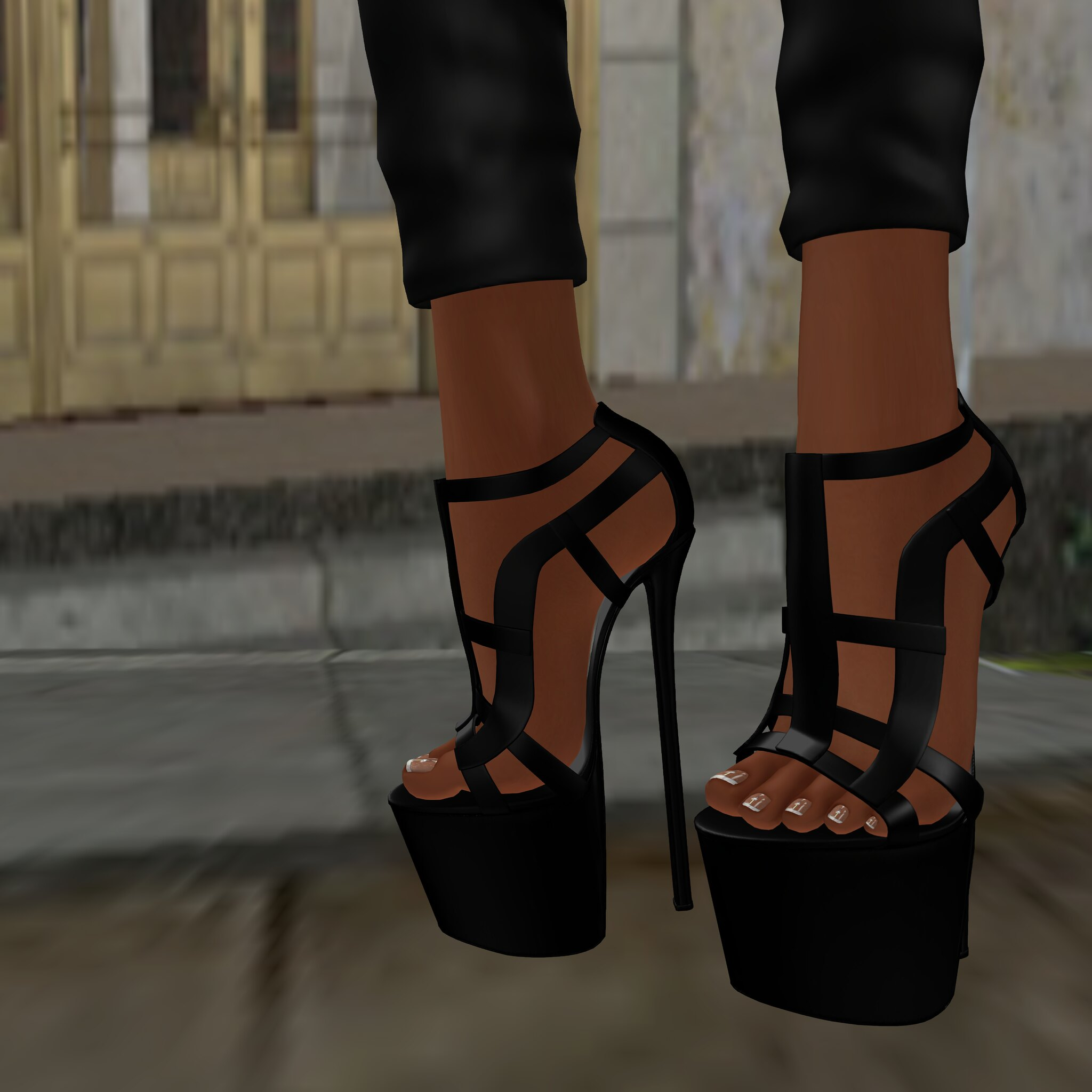 LEGENDAIRE-  Worth It Heels