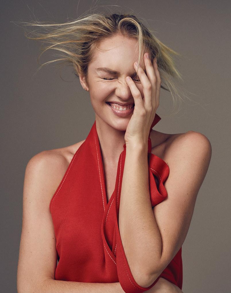 Кэндис Свейнпол — Фотосессия для «Elle» CH 2016 – 3