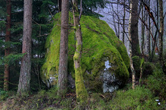 The big green stone