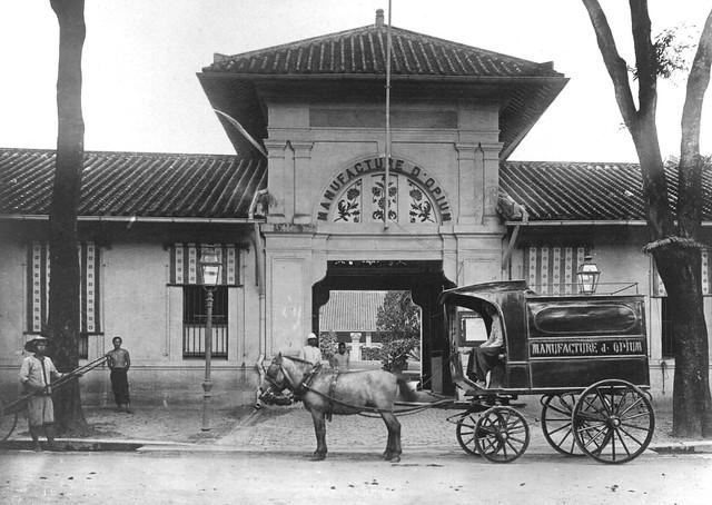 SAIGON 1905 - Manufature d'Opium - Xưởng chế biến thuốc phiện, số 74 Rue Paul Blanchy (nay là Hai Bà Trưng)