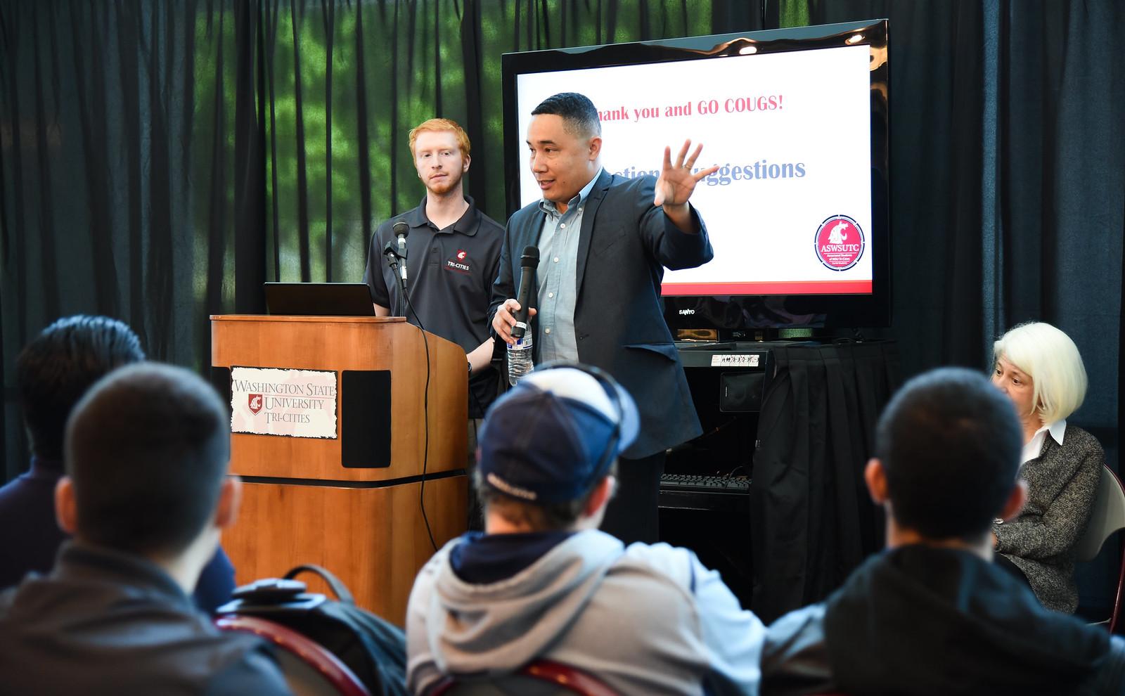 Student Union Building forum - April 18 2016
