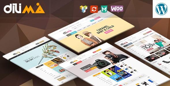Dilima v1.0 - Mega Store Responsive WooComerce Theme