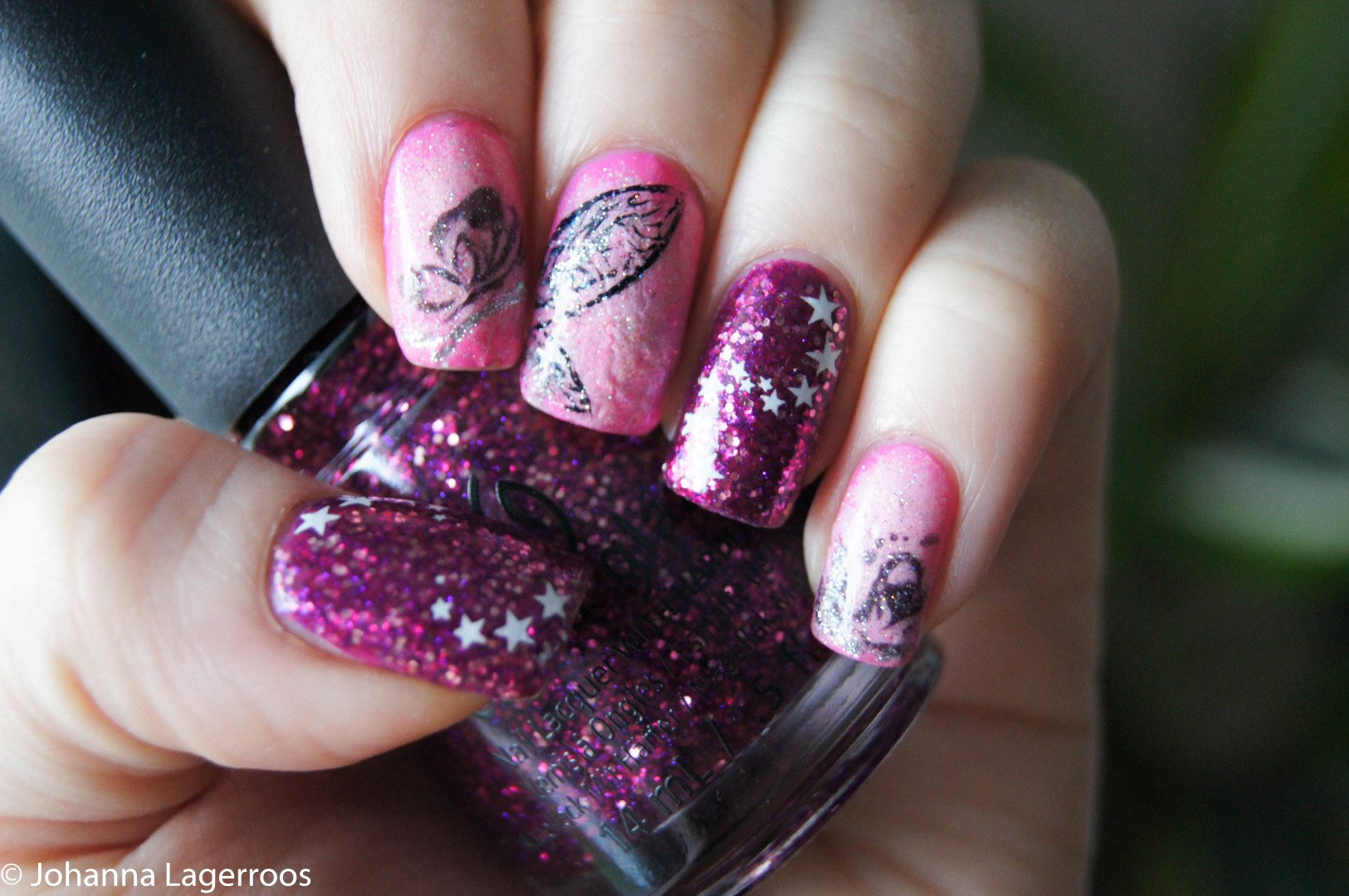 Fairy inspired nails