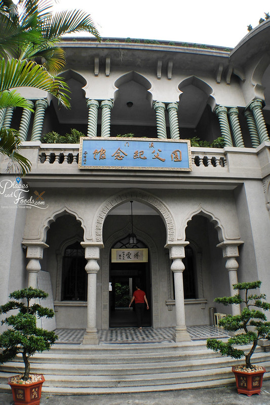 Sun Yat Sen Memorial House entrance