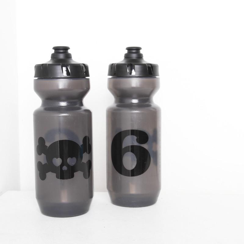 TwinSix / Skull Gray Bottle / 22oz - 624ml