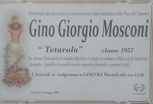 Mosconi Gino Giorgio