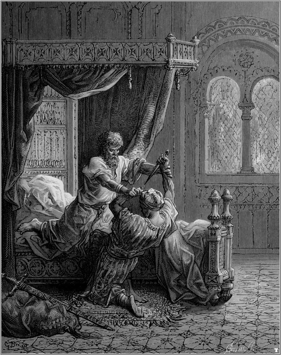 Edward I kills his attempted assassin
