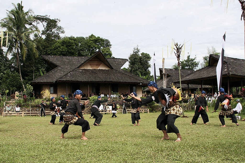 Sundanese traditional art in Sindangbarang Bogor