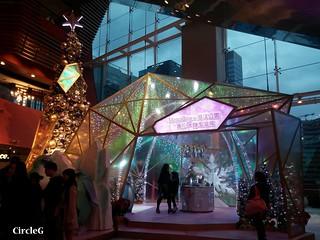 MEGA BOX KOWLOON BAY HONGKONG 九龍灣 海洋公園 企鵝 聖誕樹 2015 CIRCLEG 聖誕裝飾 (1)