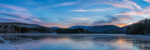 winter lake newyork mountains ice forest sunrise winterlight cooperlake catskillmountains woodstockny