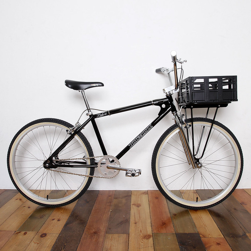 "HOW I ROLL KICK IT BLACK / 26""BMX / NEIGHBORHOOD CRUISER"