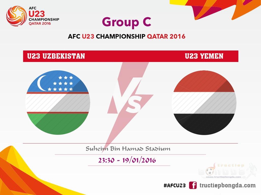 U23 Uzbekistan vs U23 Yemen