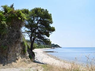 Athos, coastline near Ouranopoli