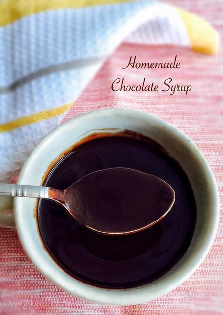 Homemade Chocolate Syrup for Babies, Toddlers and Kids