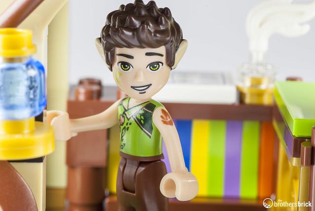 Lego Elves 41176 The Secret Marketplace Review The