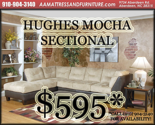 Hughes Mocha Sectional WM