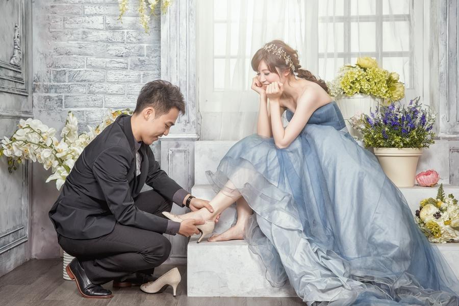 [自助婚紗] 仲偉 & 雙羽 / 雲林小情歌韓風攝影棚