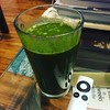 Trying the Green Goddess Smoothie for the first time #gettingmyveggies #healthy2016