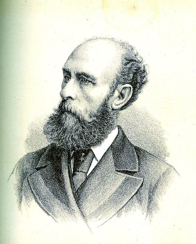 Portrait of John Frazer. Courtesy 'Australian Men of Mark' 1889. Charles F Maxwell, Sydney.