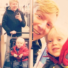 My #nephew and I #shoppin around and taking #selfies. #uncle
