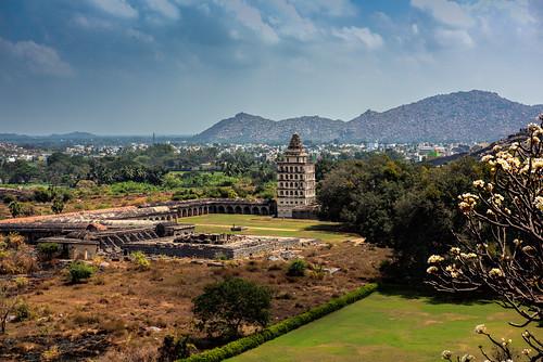 nikon nikond810 nikkor2470mmlens india southindia gingee gingeefort tamilnadu 2016 february2016 landscape history architecture kalyanamahal rajagirifort rvkphotographycom rvkphotography rvkonlinecom