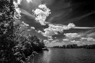 Saginaw River, Bay city, Michigan
