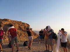 We Climbed Masada - Time for a Selfie